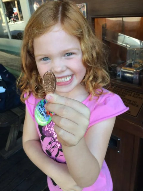 Disneyland with Preschoolers: Pressed pennies