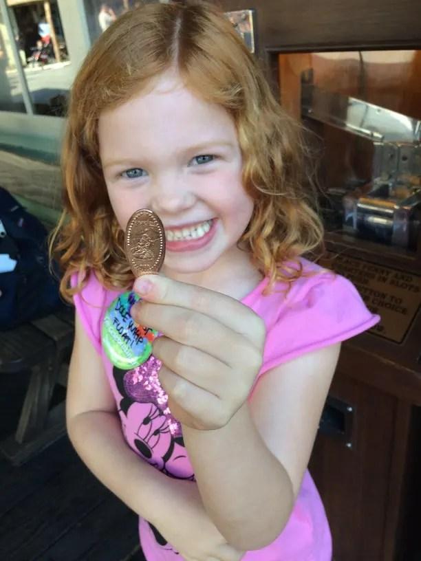 Budget Road Trip Tips - Cheap Pressed Penny Souvenir