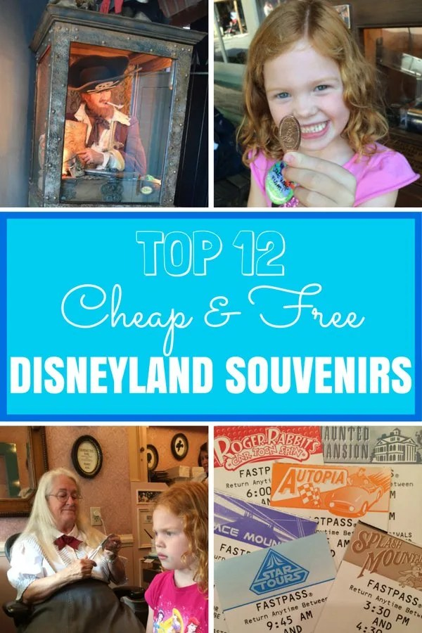 12 Cheap or Free Souvenirs at Disneyland: Top picks for unique inexpensive or free souvenirs at Disneyland so you can bring the magic home without blowing your family budget.