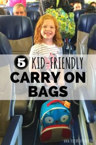 5 Kid-Friendly Airplane Carry-on Bags Your Child Will Love