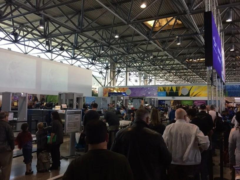 TSA Lines OAK