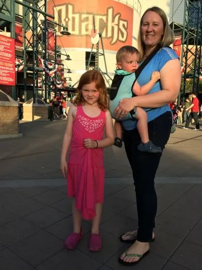 Bitybean Baby Carrier at Arizona Diamondbacks