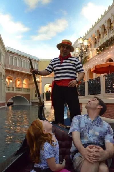 Las Vegas Gondolas at the Venetian