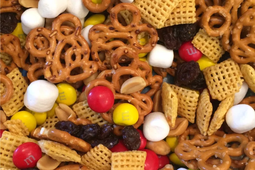 Mickey Mouse Trail Mix Close Up