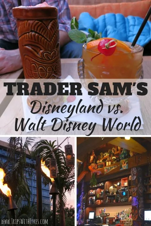 A Tale of Two Tiki Bars: Comparing Trader Sam's at Disneyland & Walt Disney World