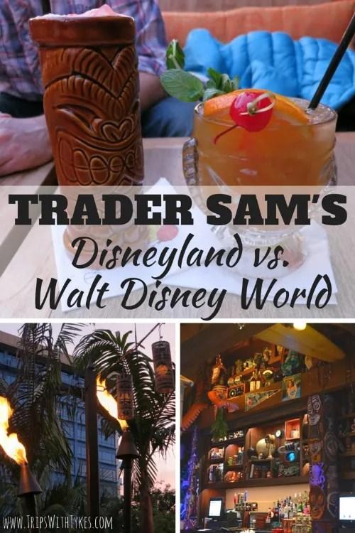 Trader Sam's Disneyland vs Walt Disney World