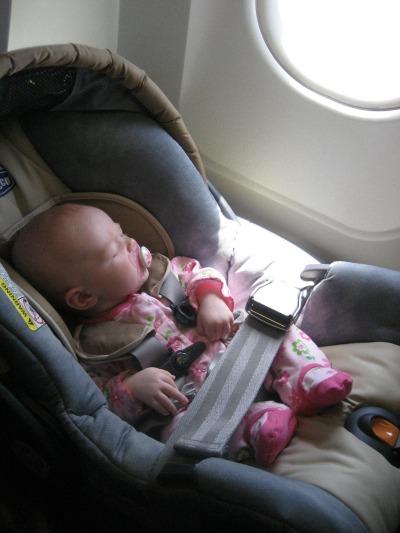 Convertible Car Seat In Plane