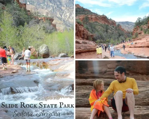 Sedona Arizona With Kids - Slide Rock State Park