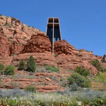 Sedona Arizona with Kids - Chapel of the Holy Cross
