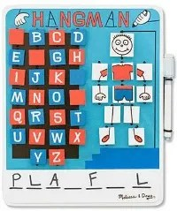 Tech free - Melissa Doug Travel Hangman