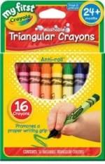Tech free - Triangular crayons