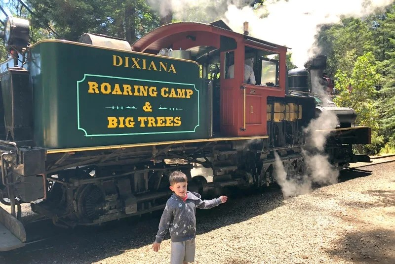 Day Trips Near San Francisco - Roaring Camp Railroads
