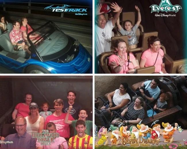 Disney Memory Maker Ride Photos