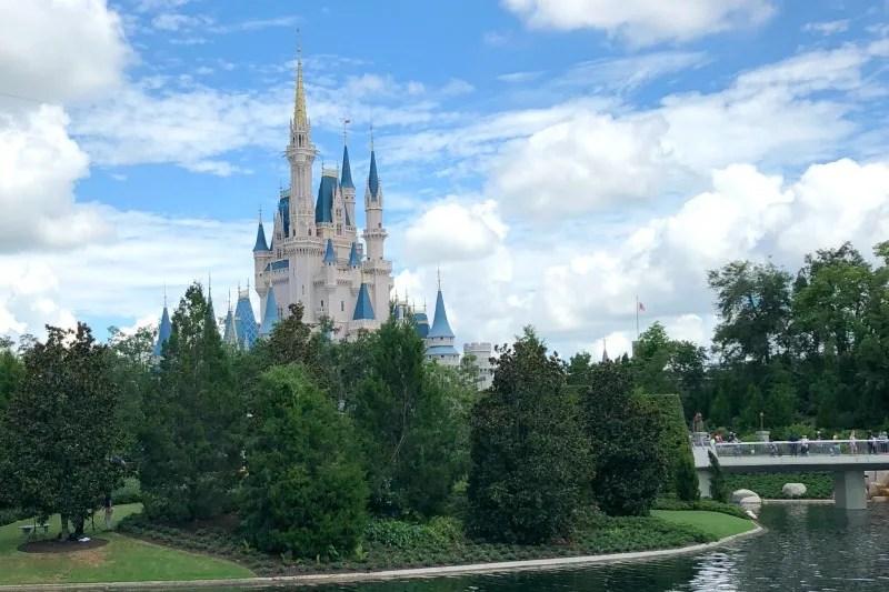 Disney World Magic Kingdom Castle