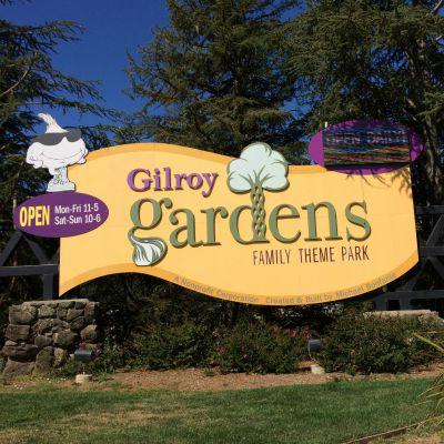 Gilroy Gardens Sign