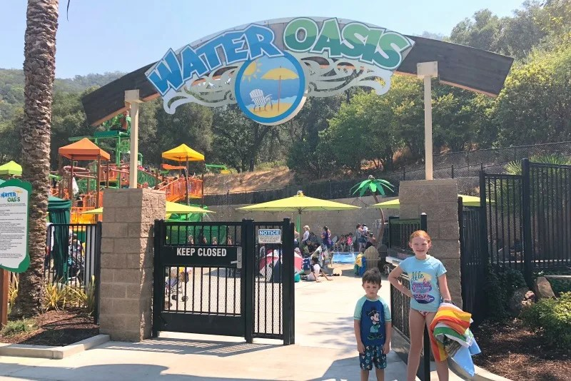 Gilroy Gardens Tips - Water Oasis Expansion