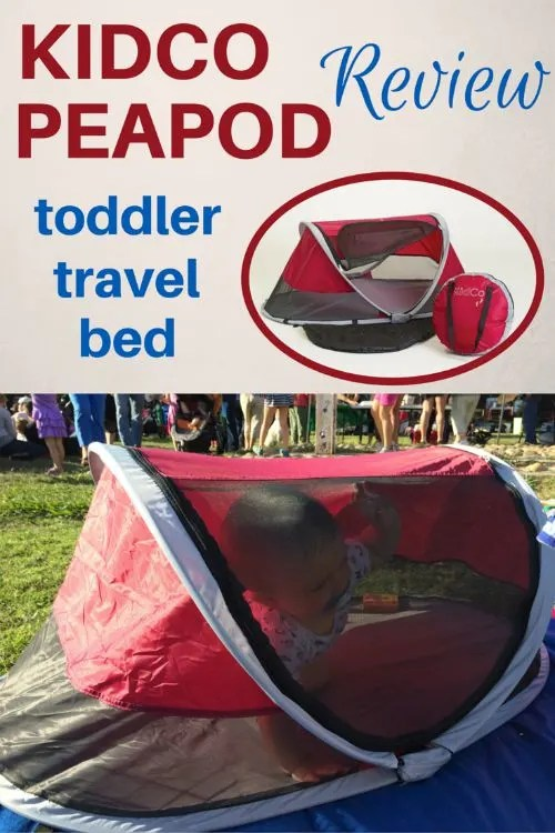 Kidco Peapod Review The Most Compact Bed For Toddler Travel Trips