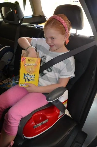 Less Mess Road Trip Tips - Snacking