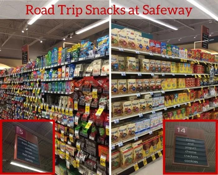 Road Trip Snacks at Safeway Large