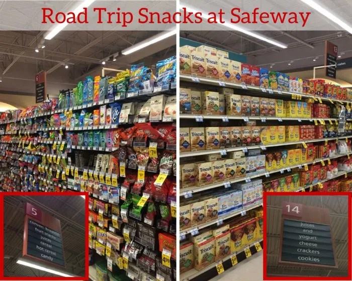 Road Trip Snacks at Safeway Large