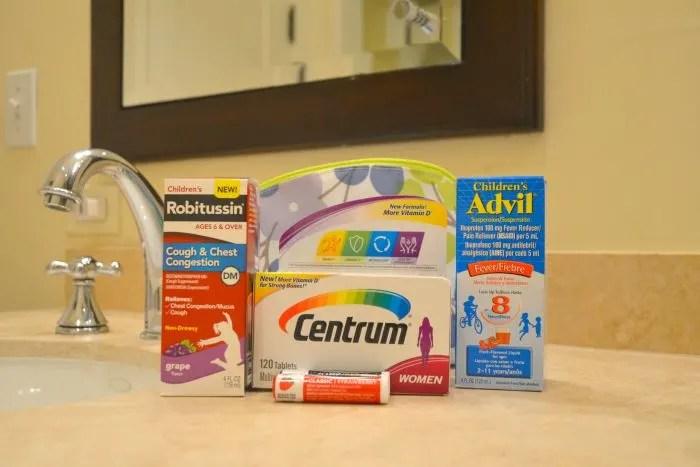 Travel Tip Medicine Cabinet 1