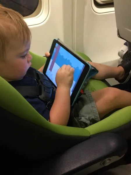 Cosco Scenera NEXT Review On Plane