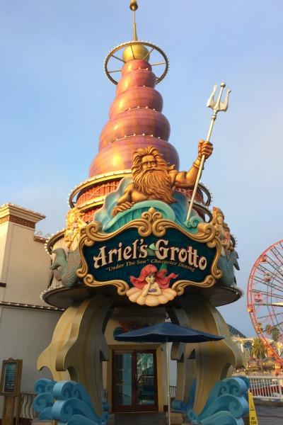 Disneyland Character Meals Ariels Grotto
