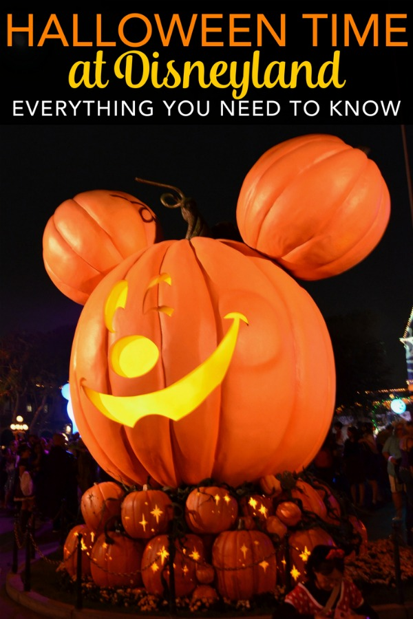 Everything you need to know about Halloween Time at Disneyland. From Haul-o-Ween in Cars Land in Disney California Adventure to Mickey's Halloween Party, find out what to expect this fall season at the Happiest Place on Earth! #halloweentime #disneyland #mickeyshalloweenparty #disney