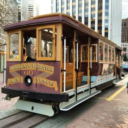 Christmas in San Francisco - Cable Car