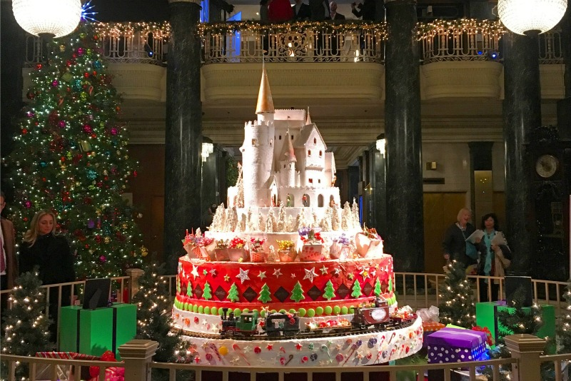 Christmas In San Francisco Westin St Francis Castle
