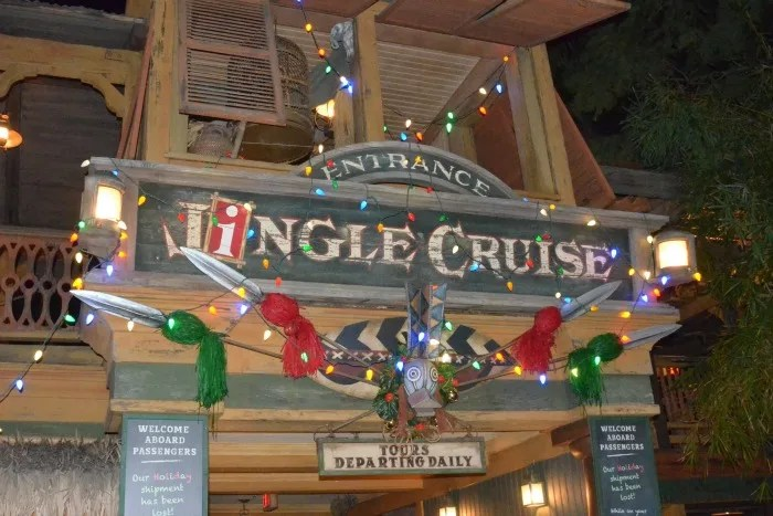 Complete Guide to Holidays at Disneyland - Jingle Cruise