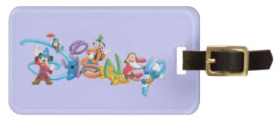 Disney Stocking Stuffers - Disney Luggage Tag