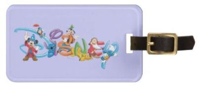 Disney Stocking Stuffers - Disney Luggage Tag
