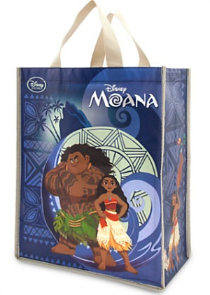 Disney Stocking Stuffers - Moana Grocery Tote
