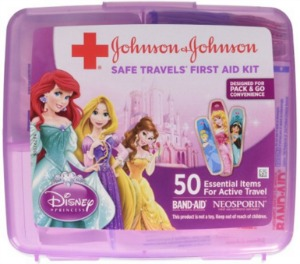 Disney Stocking Stuffers - Princess First Aid Kit