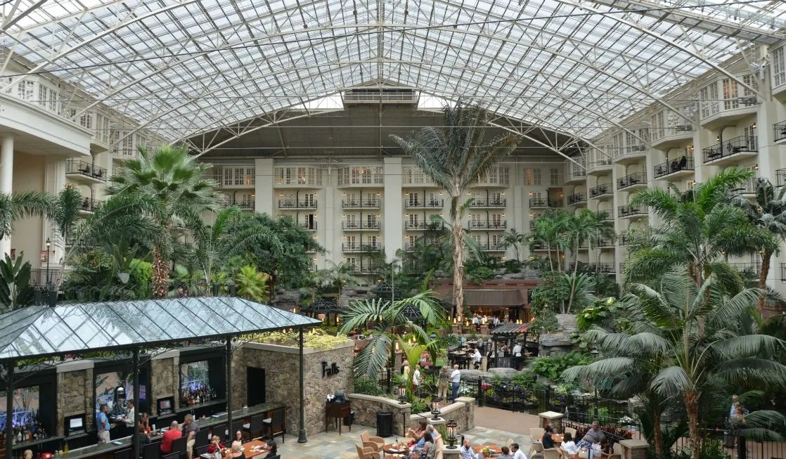 Nashville with Kids - Gaylord Opryland Resort