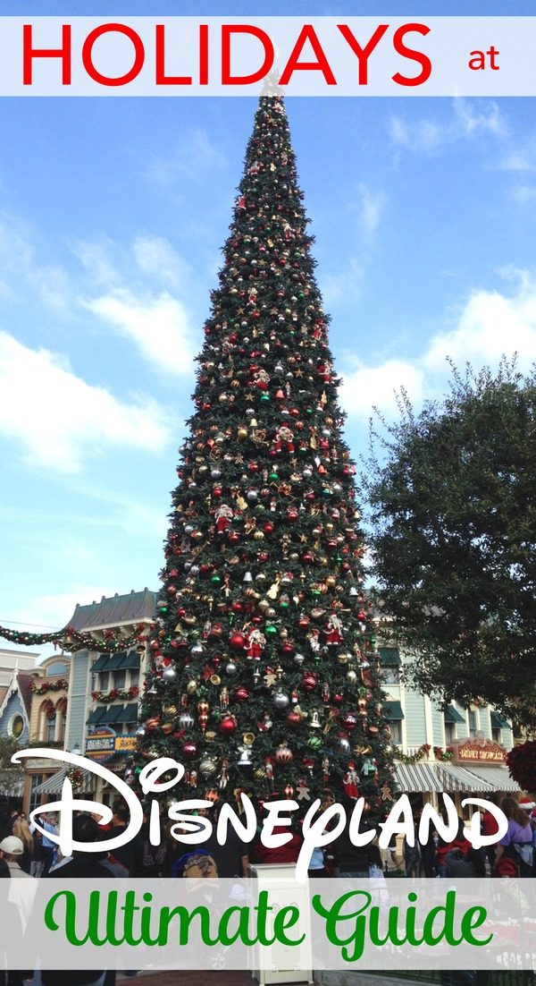 Visiting Disneyland for the holidays? The best food, Christmas lights, decorations, attractions, and TIPS for making the most of a visit to the parks in November and December.