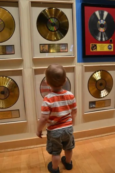 Nashville with Young Kids - Country Music Hall of Fame Records