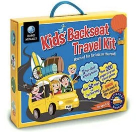 Stocking Stuffers for Traveling Kids - Rand McNally Travel Kit