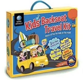 Stocking Stuffers for Traveling Kids - Rand McNally Travel Kit