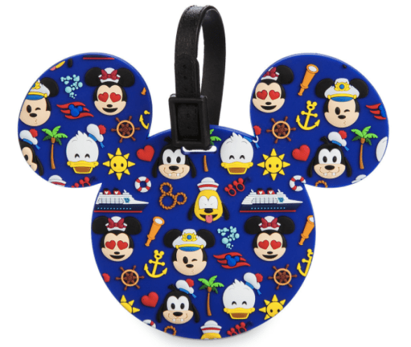 Disney Stocking Stuffers - Emoji Disney Cruise Luggage Tag