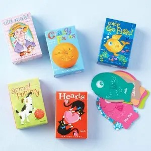Stocking Stuffers for Traveling Kids - Mini Card Set