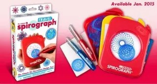 Stocking Stuffers for Traveling Kids - Travel Spirograph