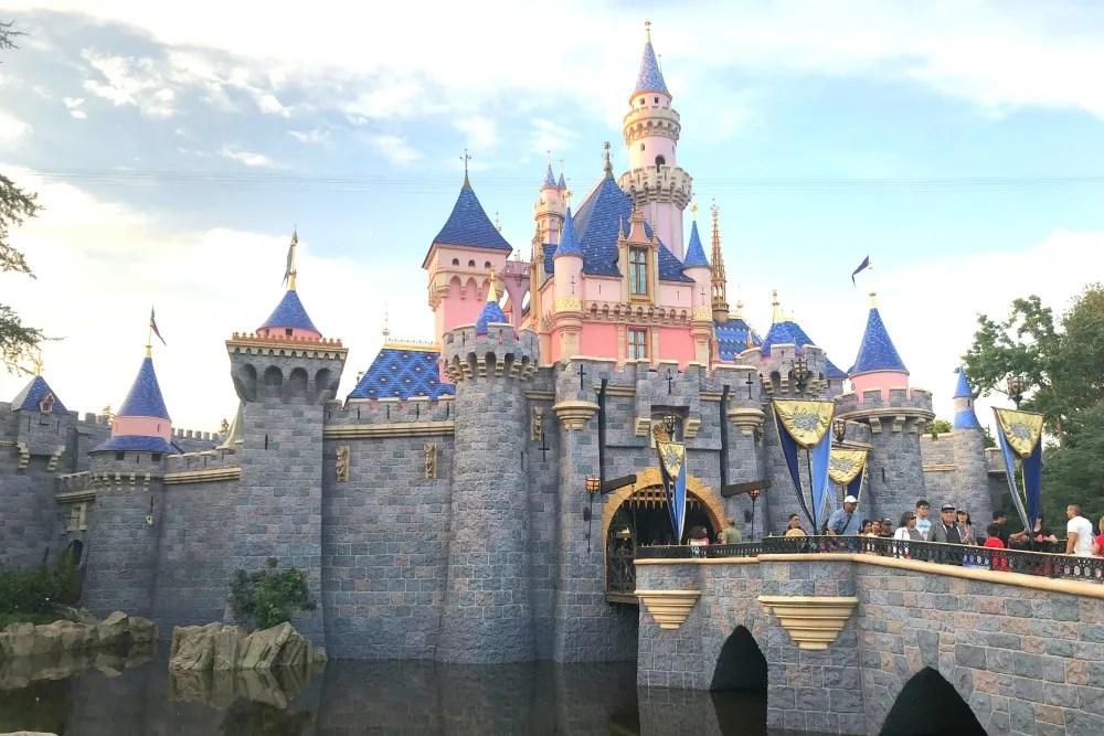 New Colors of Sleeping Beauty Castle