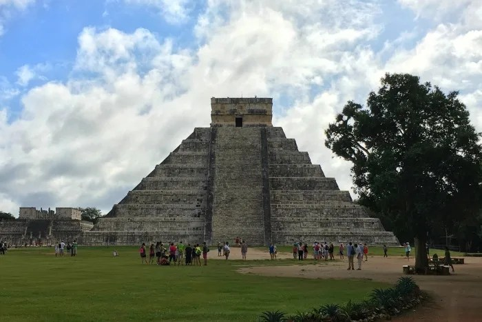 The Mayan ruins at Chichen Itza are an excellent stop for travelers with kids.