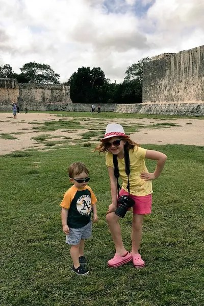 Visiting Chichen Itza with kids is easy with a little bit of planning.
