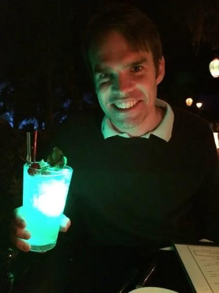 Disneyland Date Night - Blue Bayou Mint Julep
