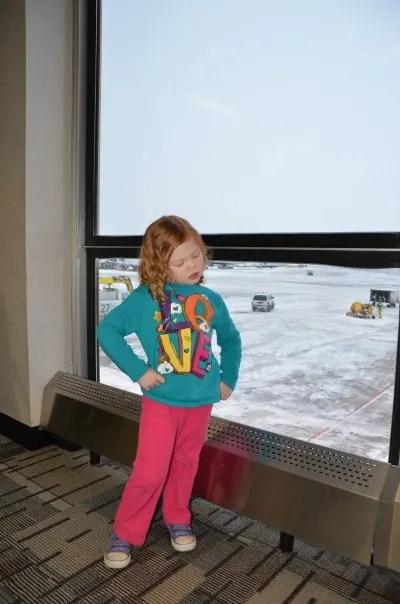 Winter Weather Air Travel Tips - Airport