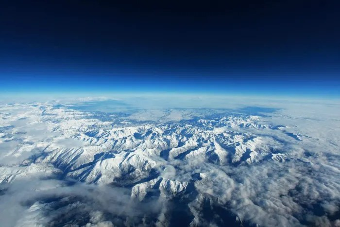 Winter Weather Air Travel Tips - Snow Air View