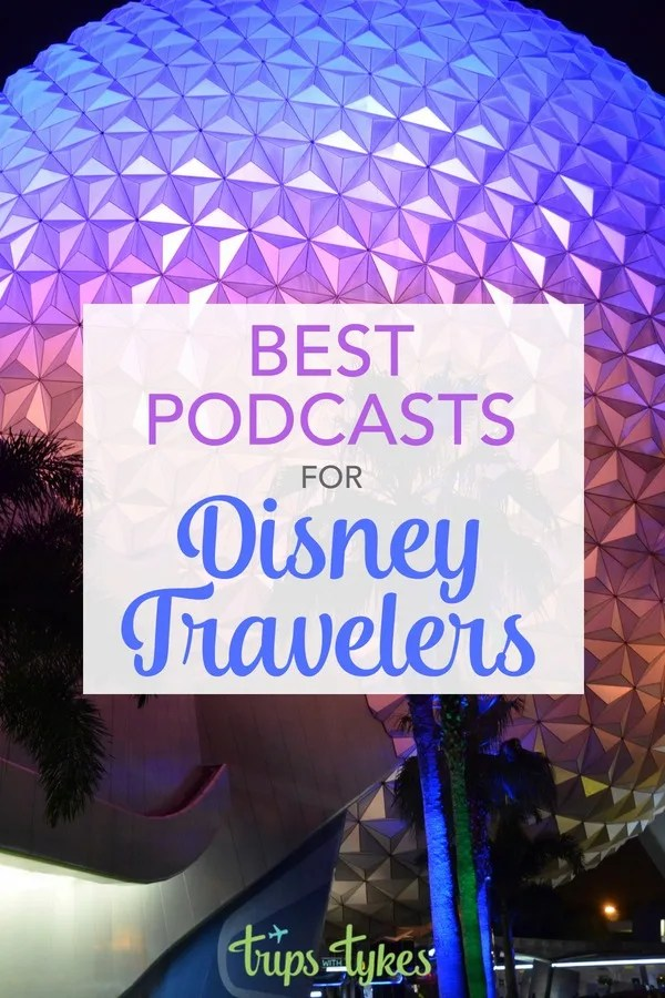 Planning a Disney vacation? Add these Disney and travel podcasts to your phone so you can get Disney travel tips on the go. #disney #disneyworld #travel #traveltip #podcast
